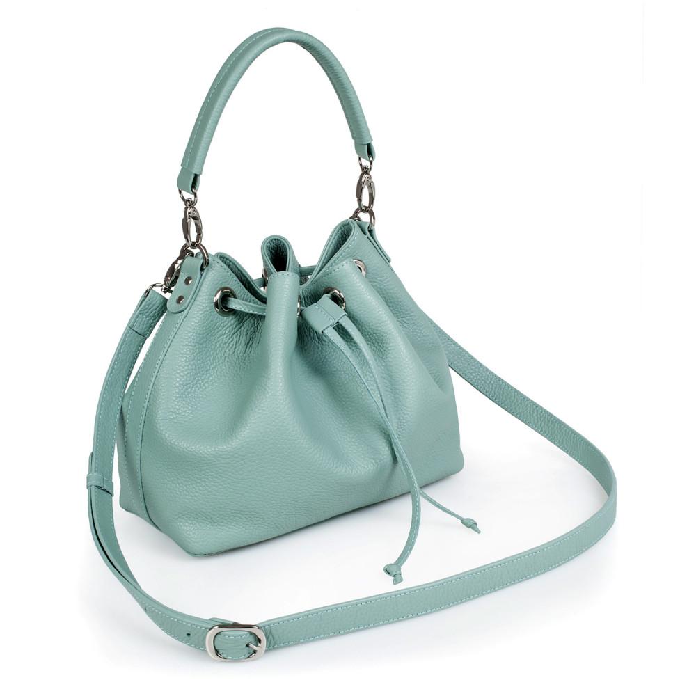 Жіноча шкіряна сумка-мішок Хобо Sonya KF-2745-1