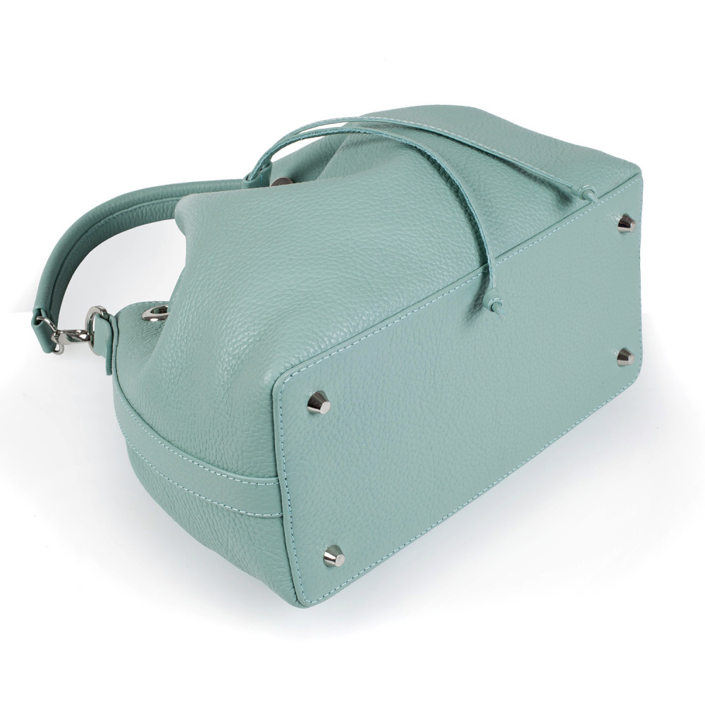 Жіноча шкіряна сумка-мішок Хобо Sonya KF-2745-5