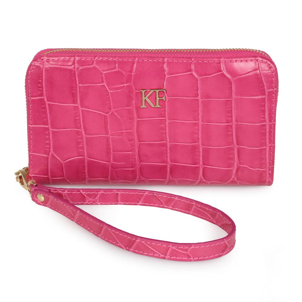 Жіночий шкіряний гаманець Classic KF-2773