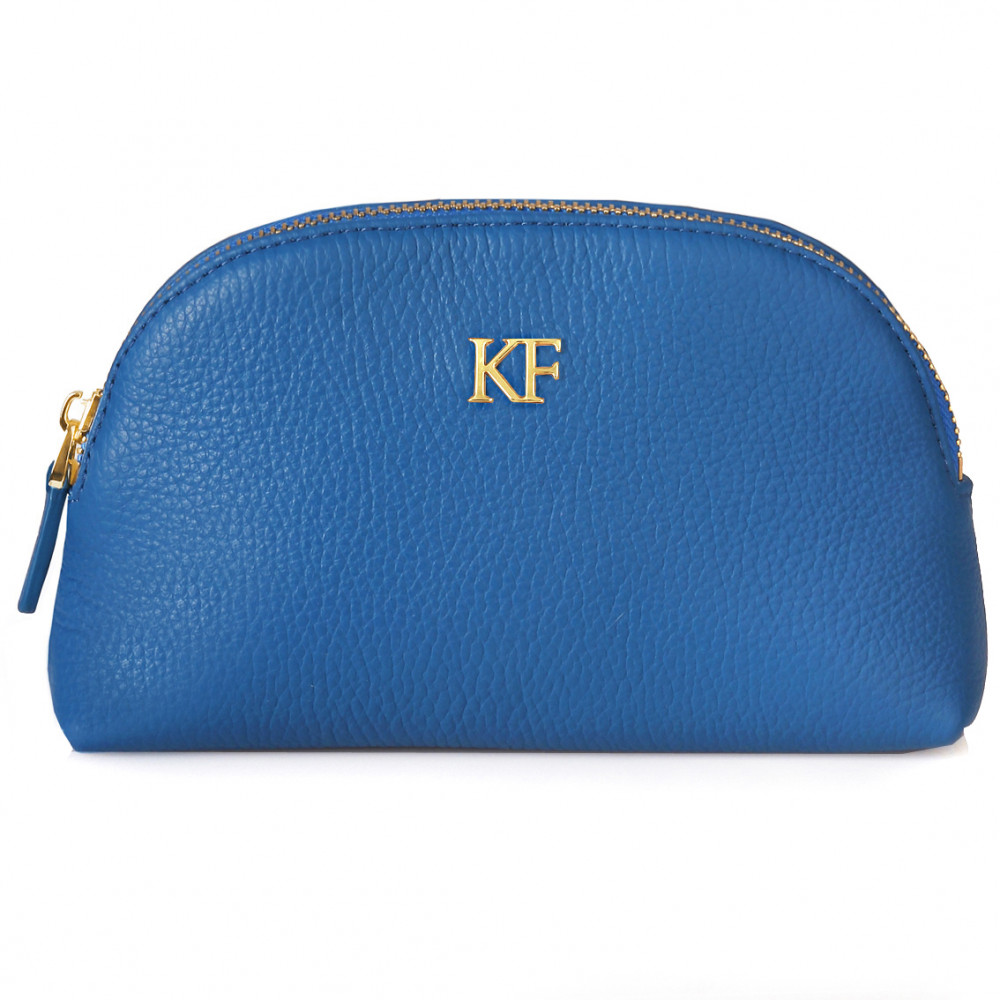Women's leather cosmetic bag Ksusha KF-278