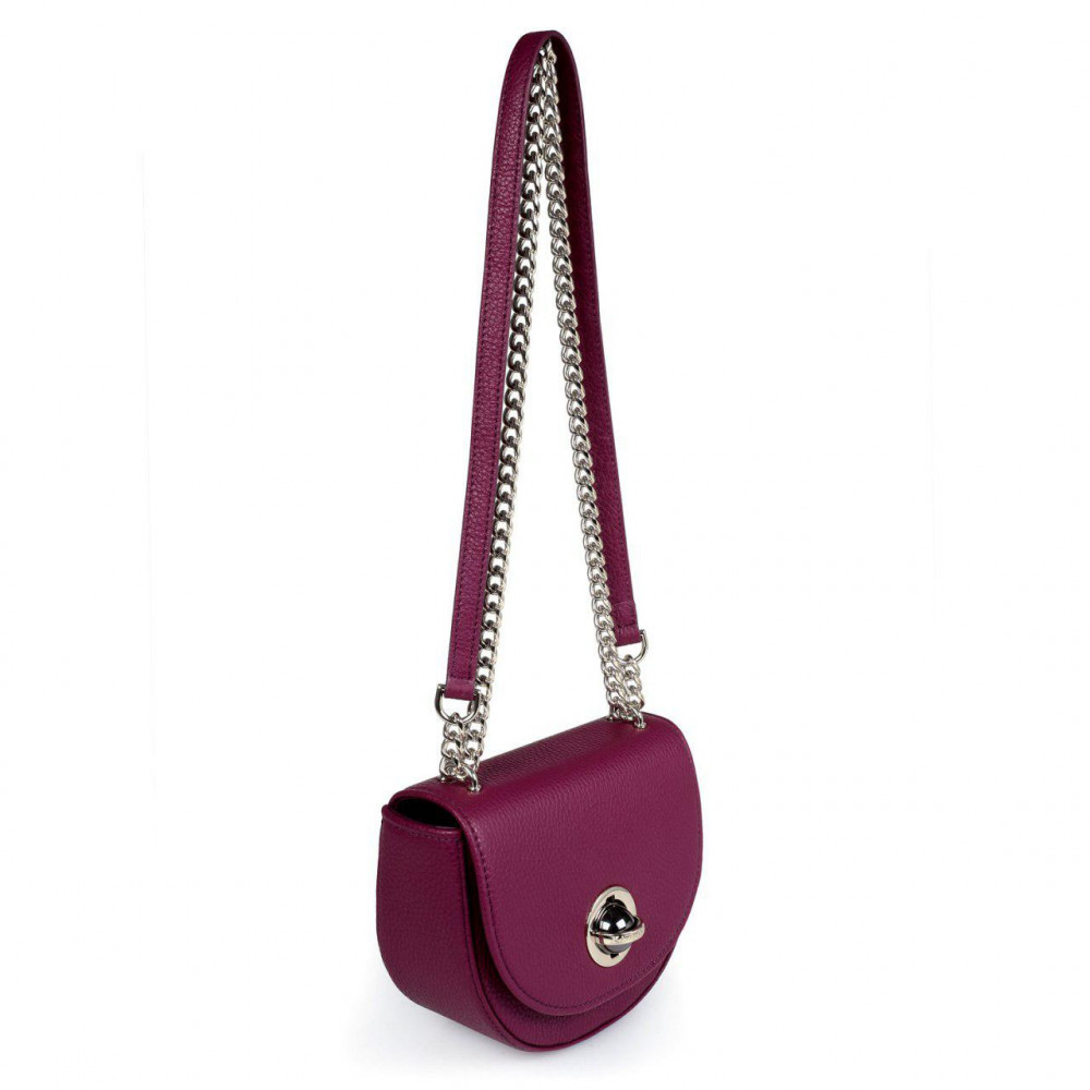Women's leather bag on a chain Milena KF-2791-1