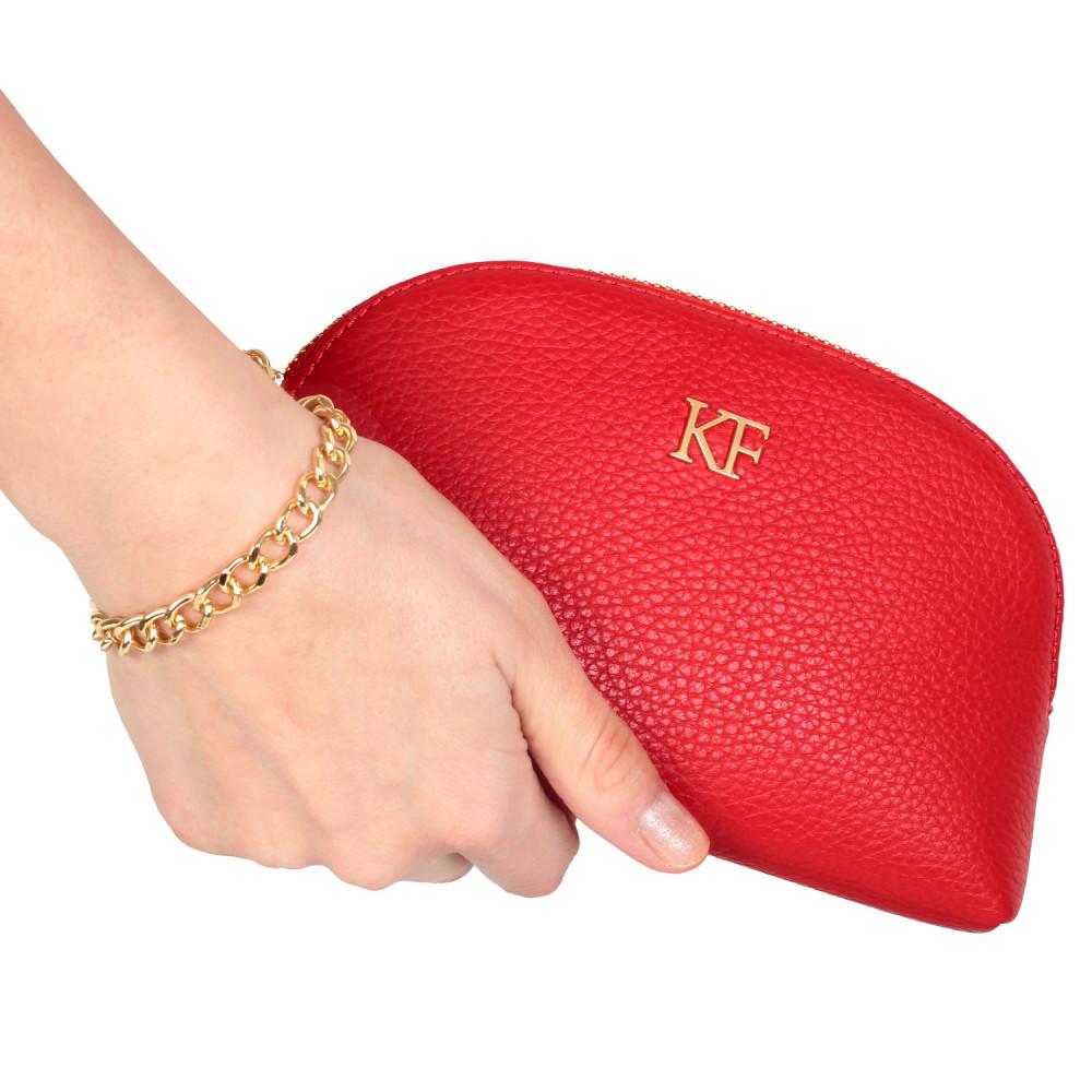 Women's leather clutch bag Ksusha KF-280-
