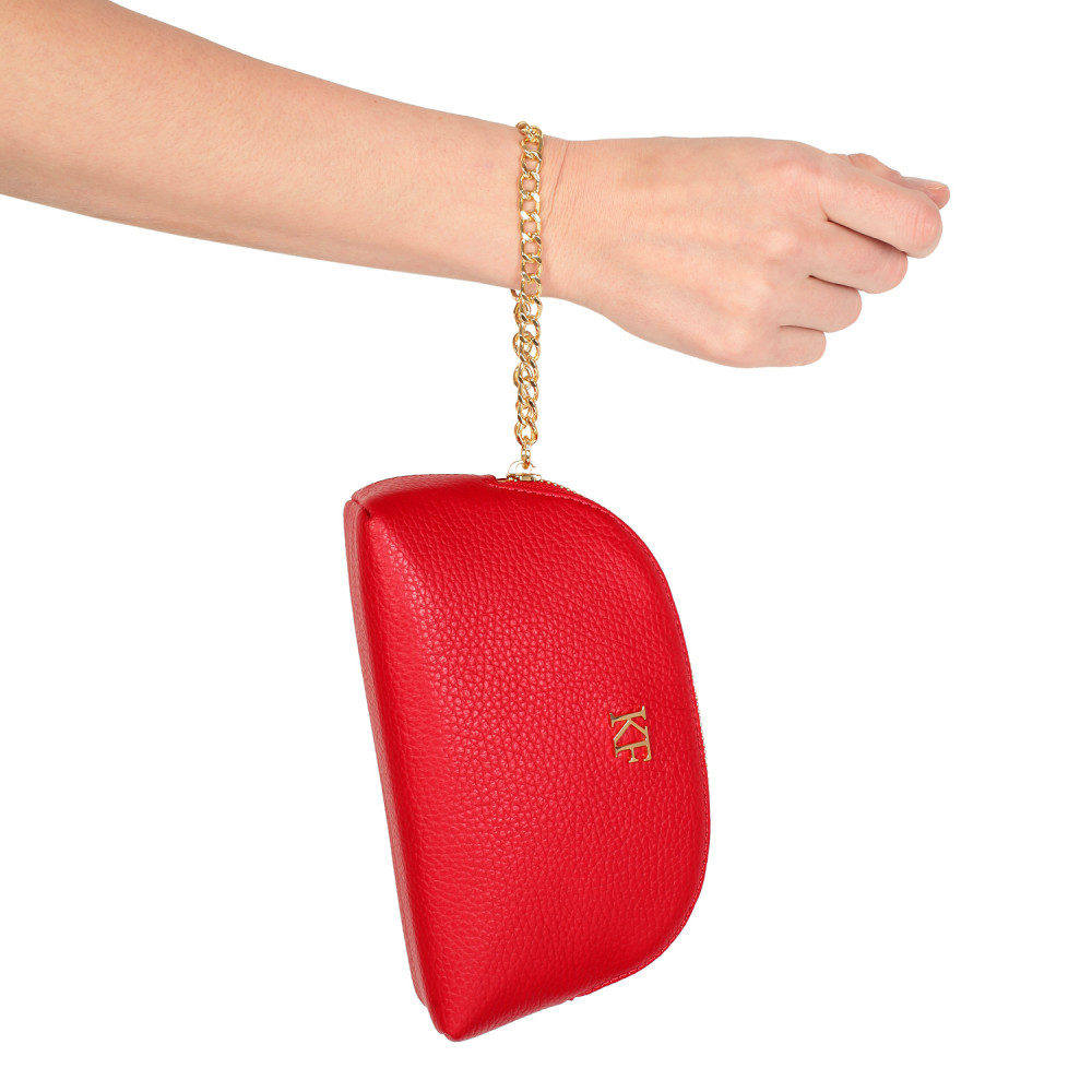 Women's leather clutch bag Ksusha KF-280-1