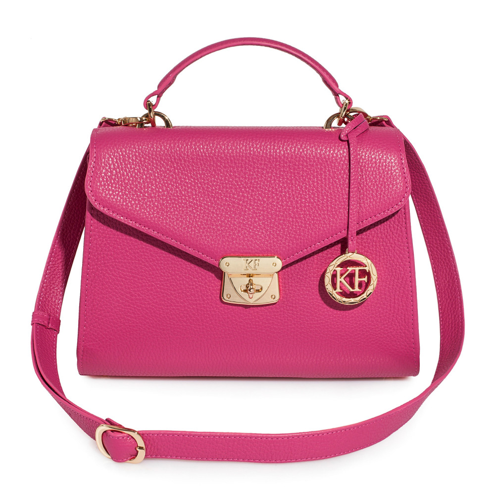 Women's leather briefcase Anita KF-2818