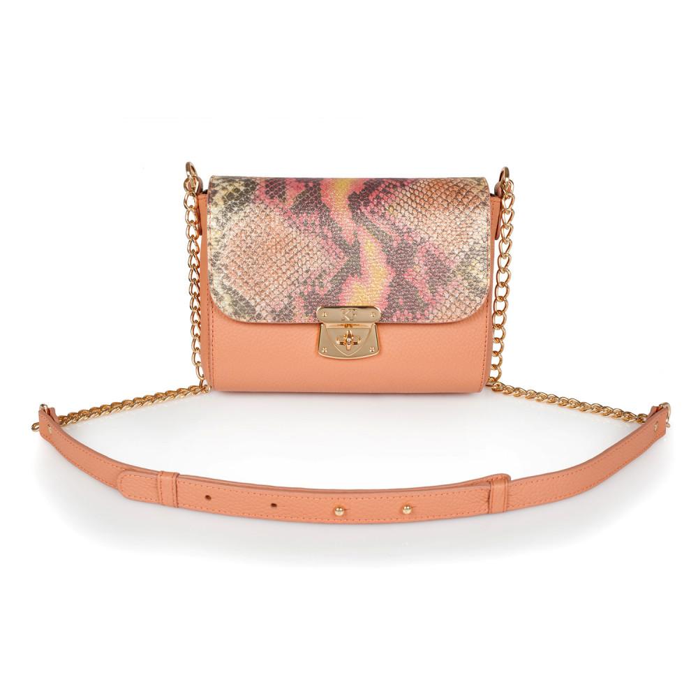 Жіноча шкіряна сумка на ланцюжку Prima S KF-2835