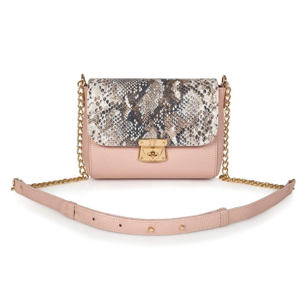 Жіноча шкіряна сумка на ланцюжку Prima S KF-2867-