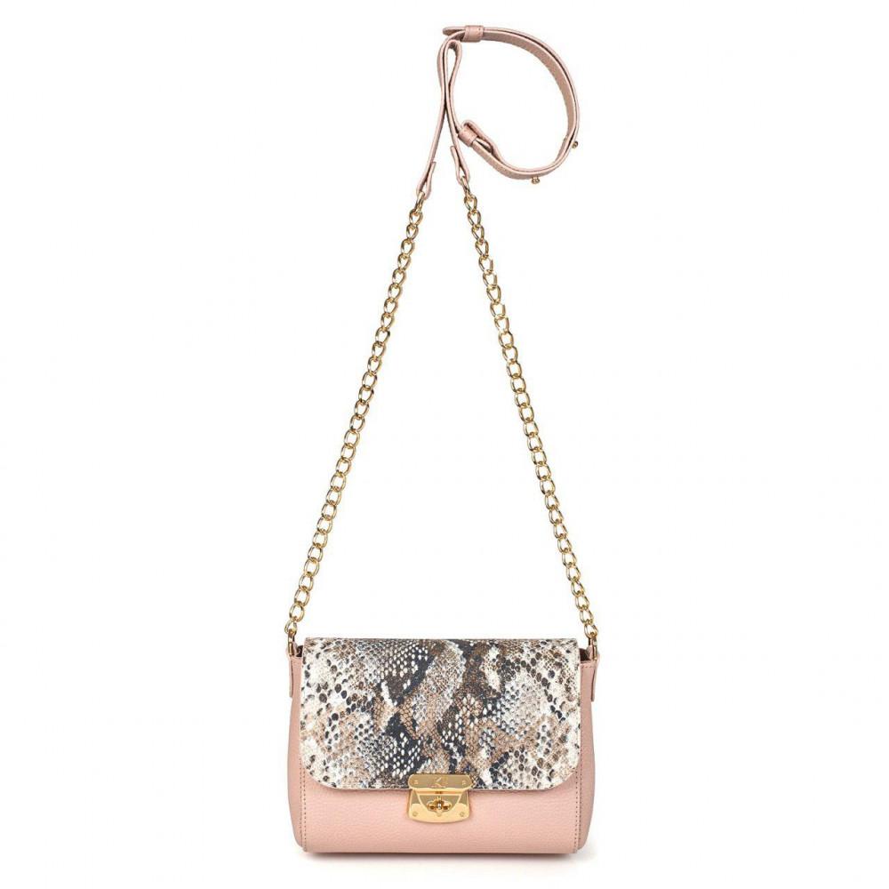 Жіноча шкіряна сумка на ланцюжку Prima S KF-2867-2