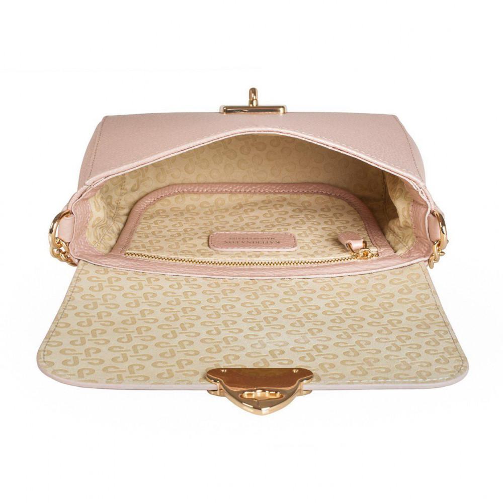 Жіноча шкіряна сумка на ланцюжку Prima S KF-2867-4