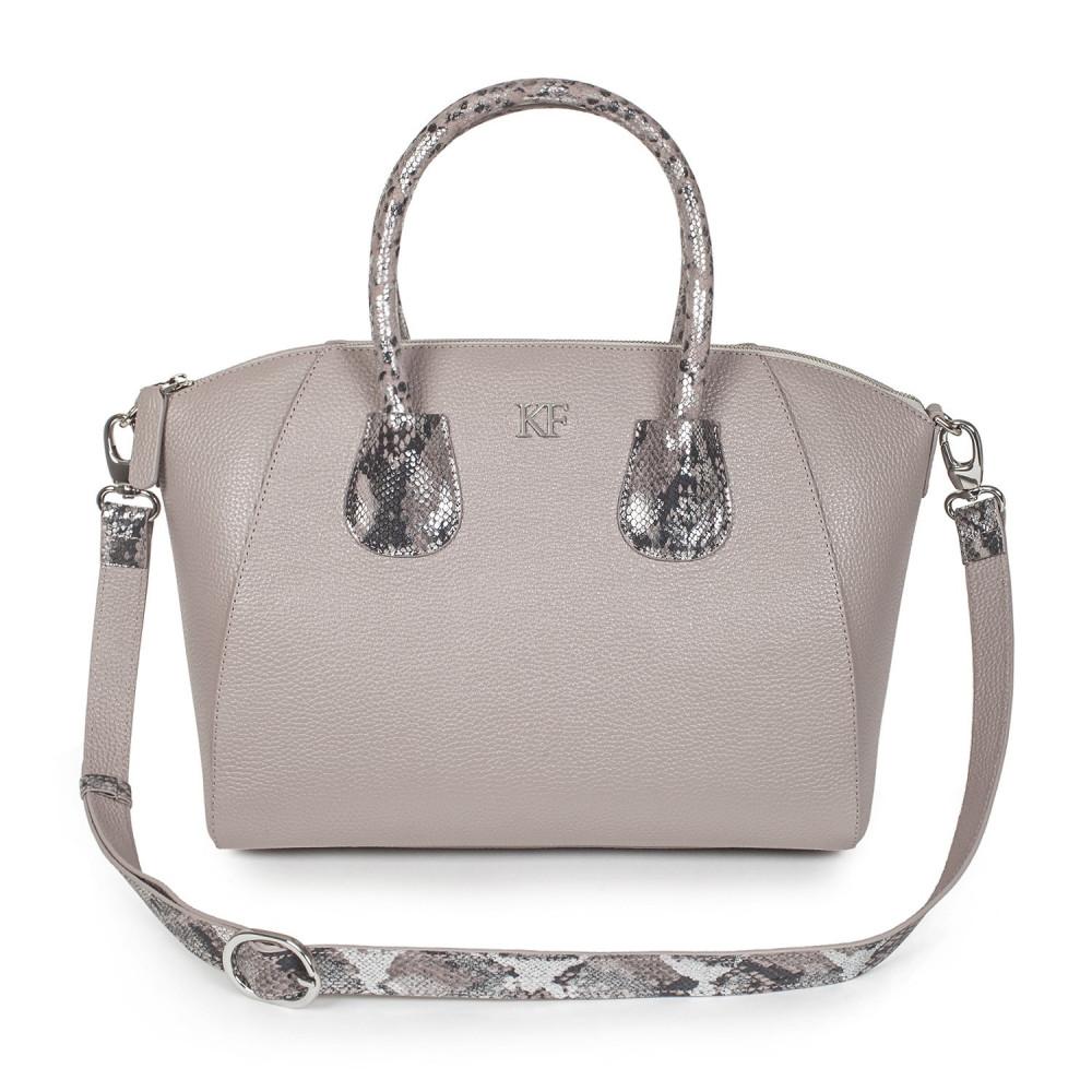 Жіноча шкіряна сумка Valeriya KF-2878