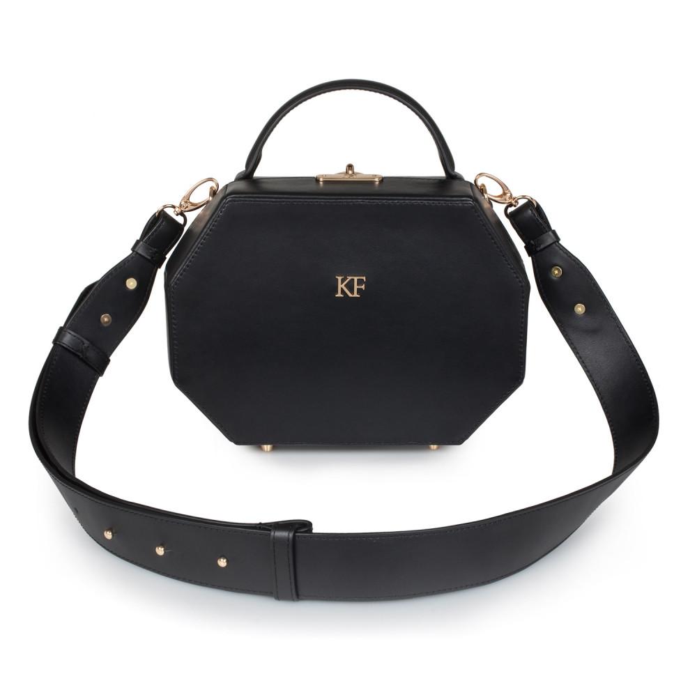 Жіноча шкіряна сумка-шкатулка Alexa KF-2880