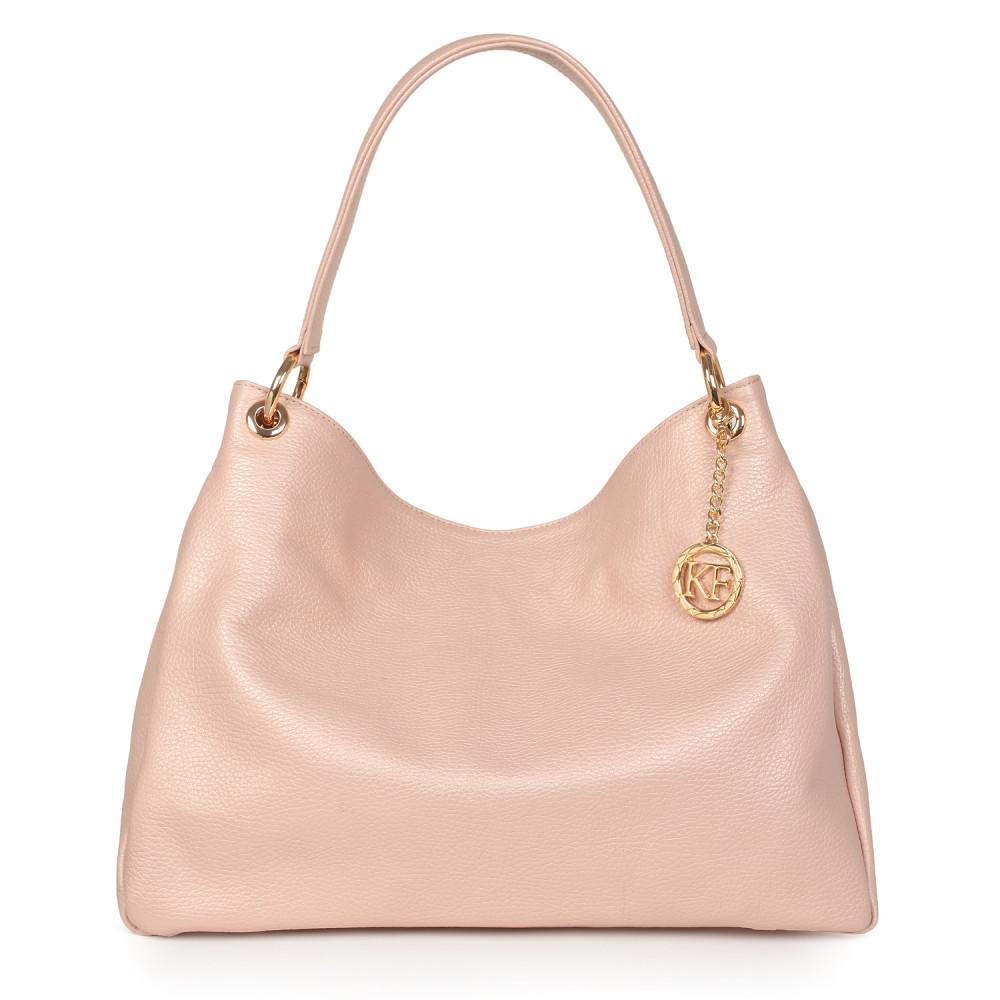 Жіноча шкіряна сумка-мішок Хобо Nadin KF-2886