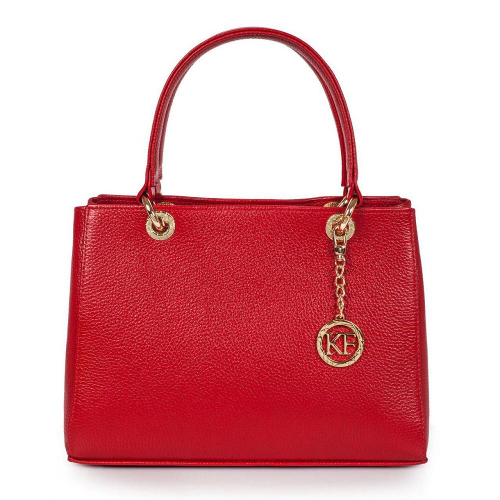 Жіноча шкіряна сумка Vera M KF-2892