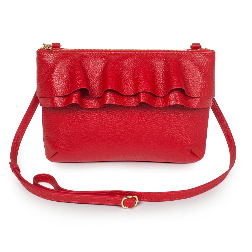 Жіноча шкіряна сумка  кросс-боді Esmi KF-2899