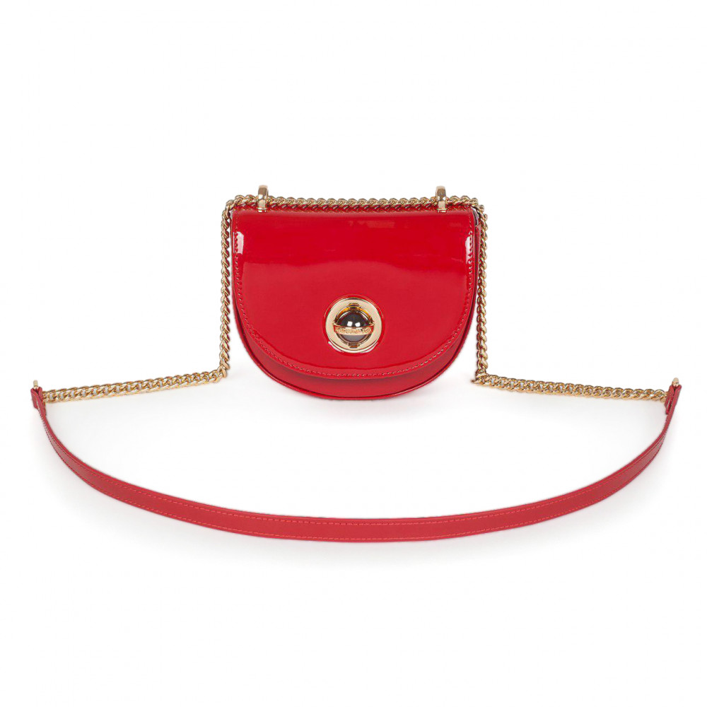 Women's leather bag on a chain Milena KF-2939-