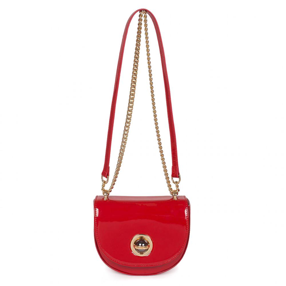 Жіноча шкіряна сумка на ланцюжку Milena KF-2939-1