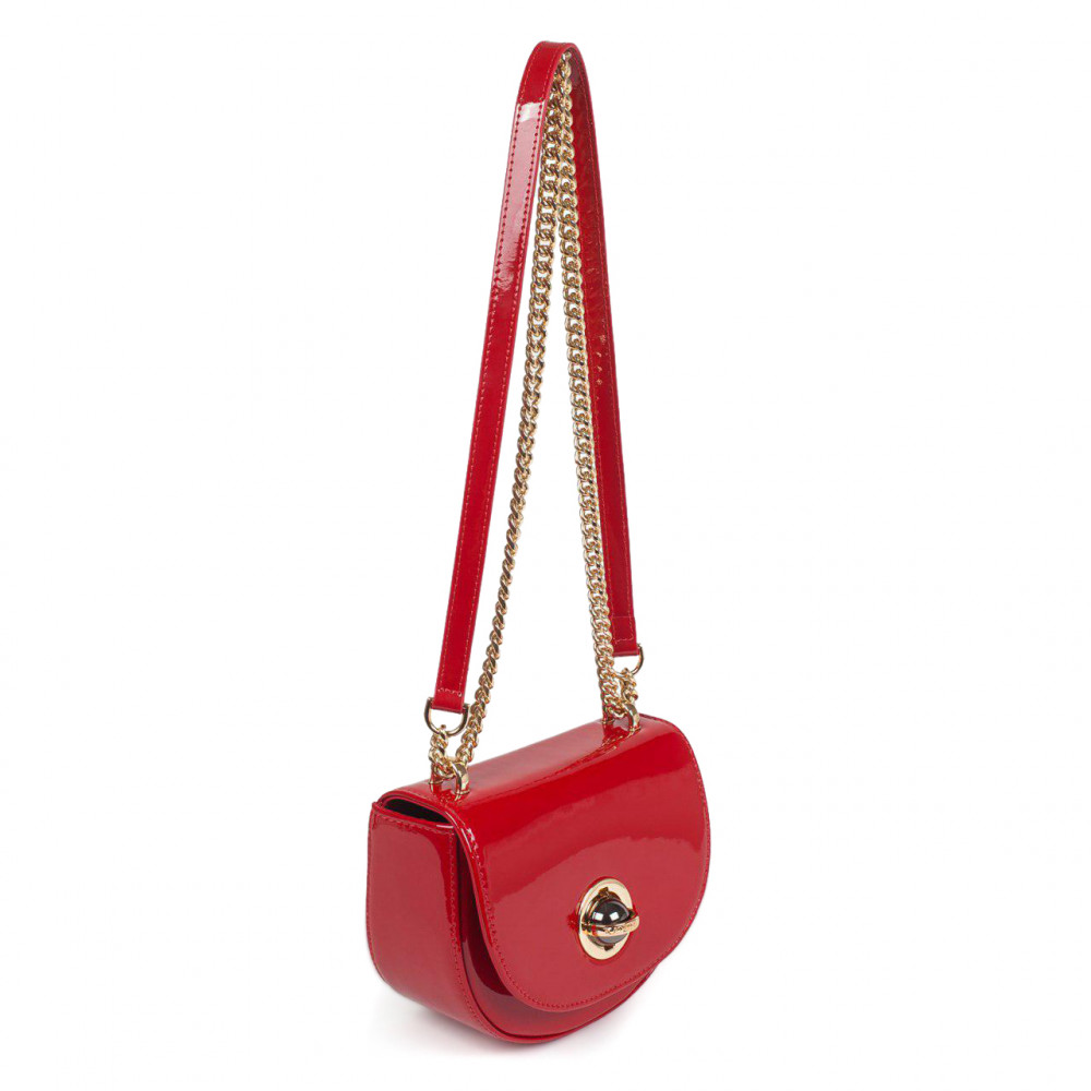 Women's leather bag on a chain Milena KF-2939-2