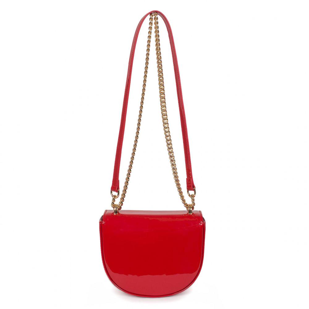 Жіноча шкіряна сумка на ланцюжку Milena KF-2939-3