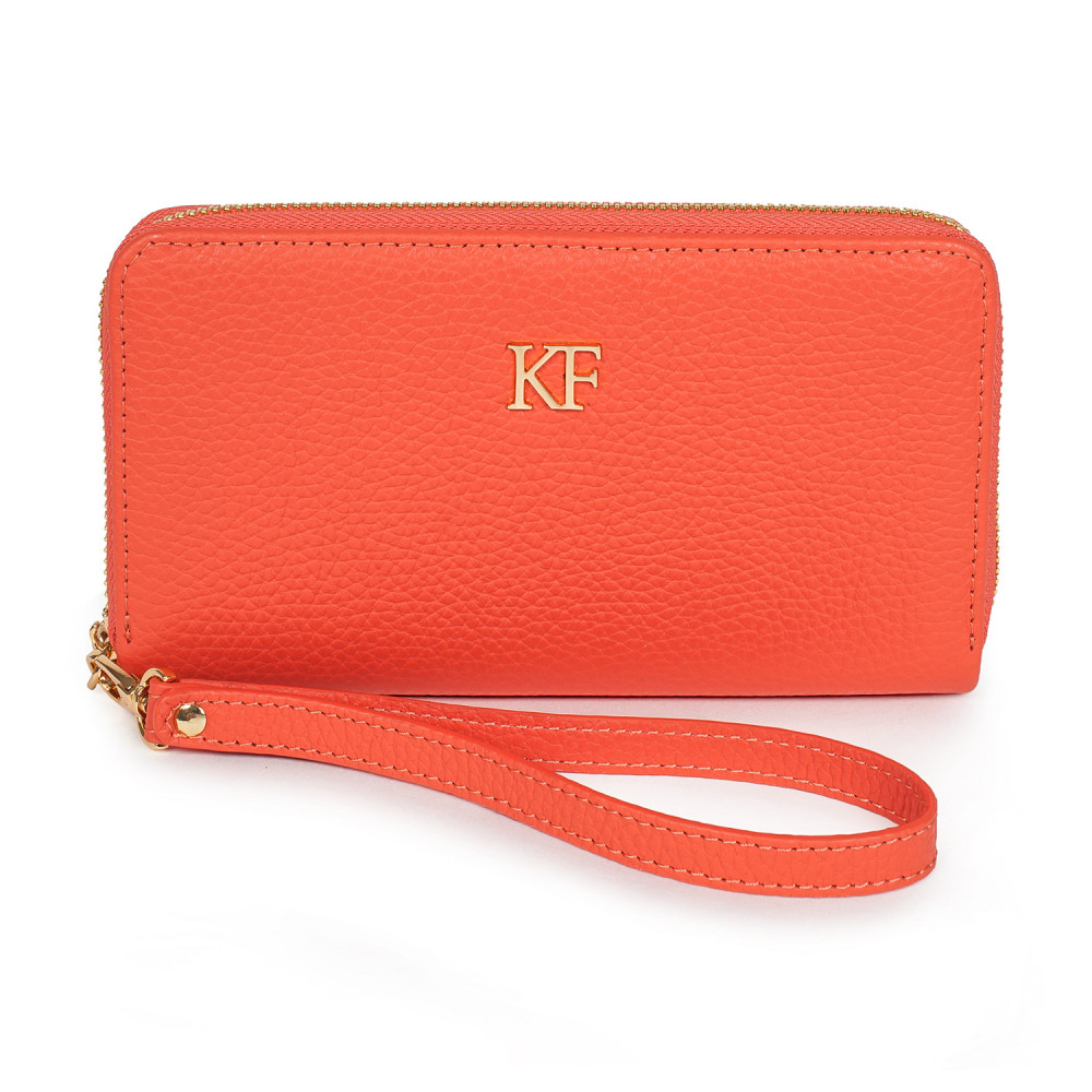 Жіночий шкіряний гаманець Classic KF-2940
