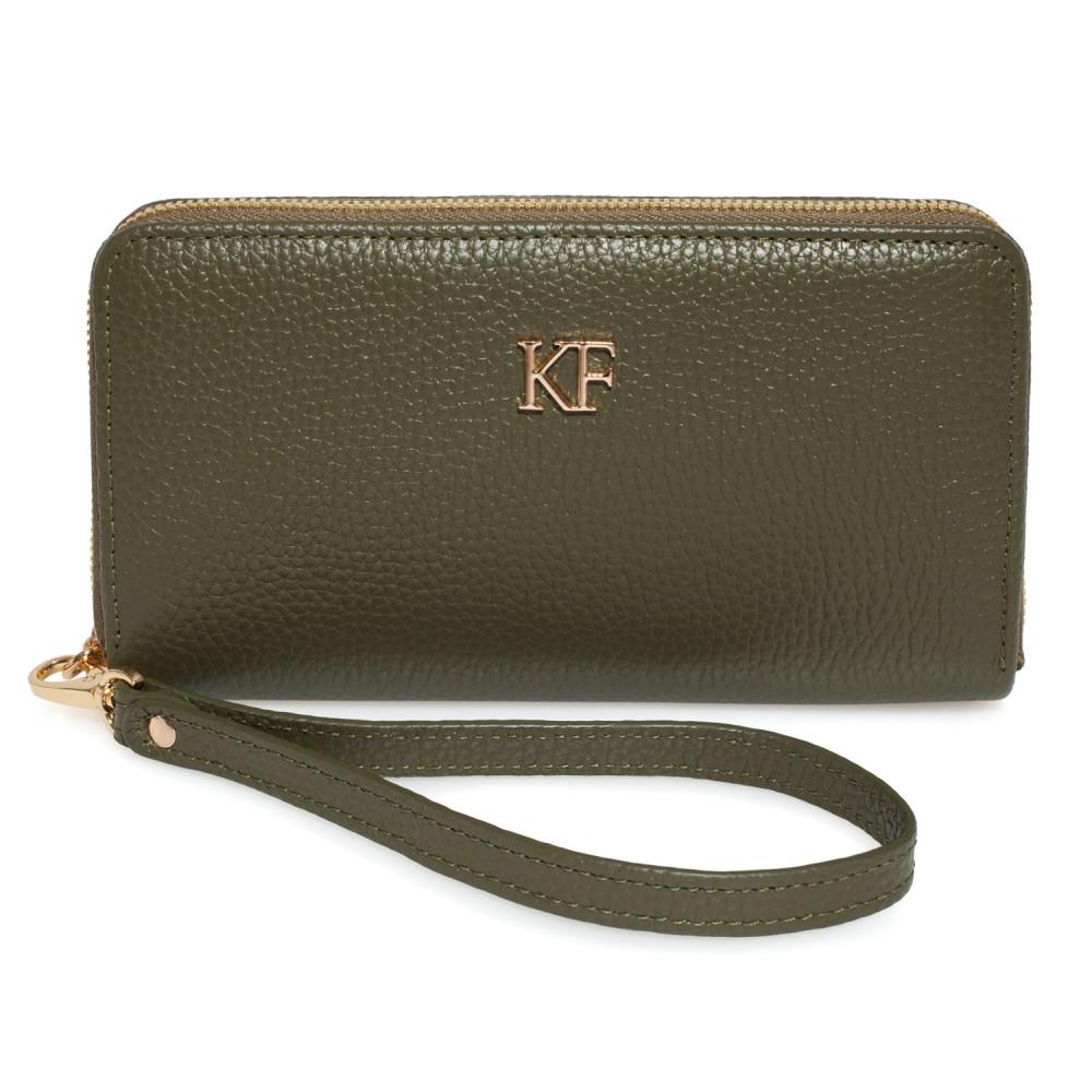 Жіночий шкіряний гаманець Classic KF-2950