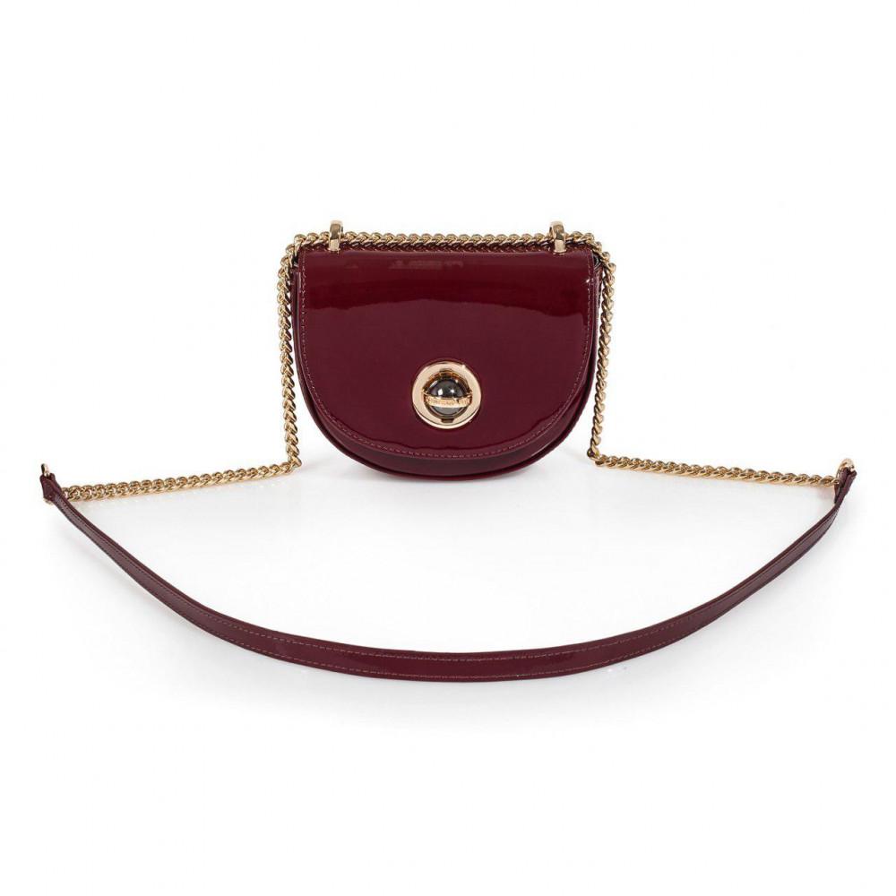 Жіноча шкіряна сумка на ланцюжку Milena KF-2969