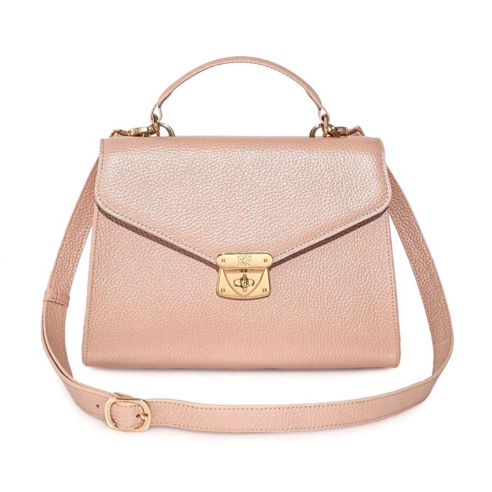 Women's leather briefcase Anita KF-2988