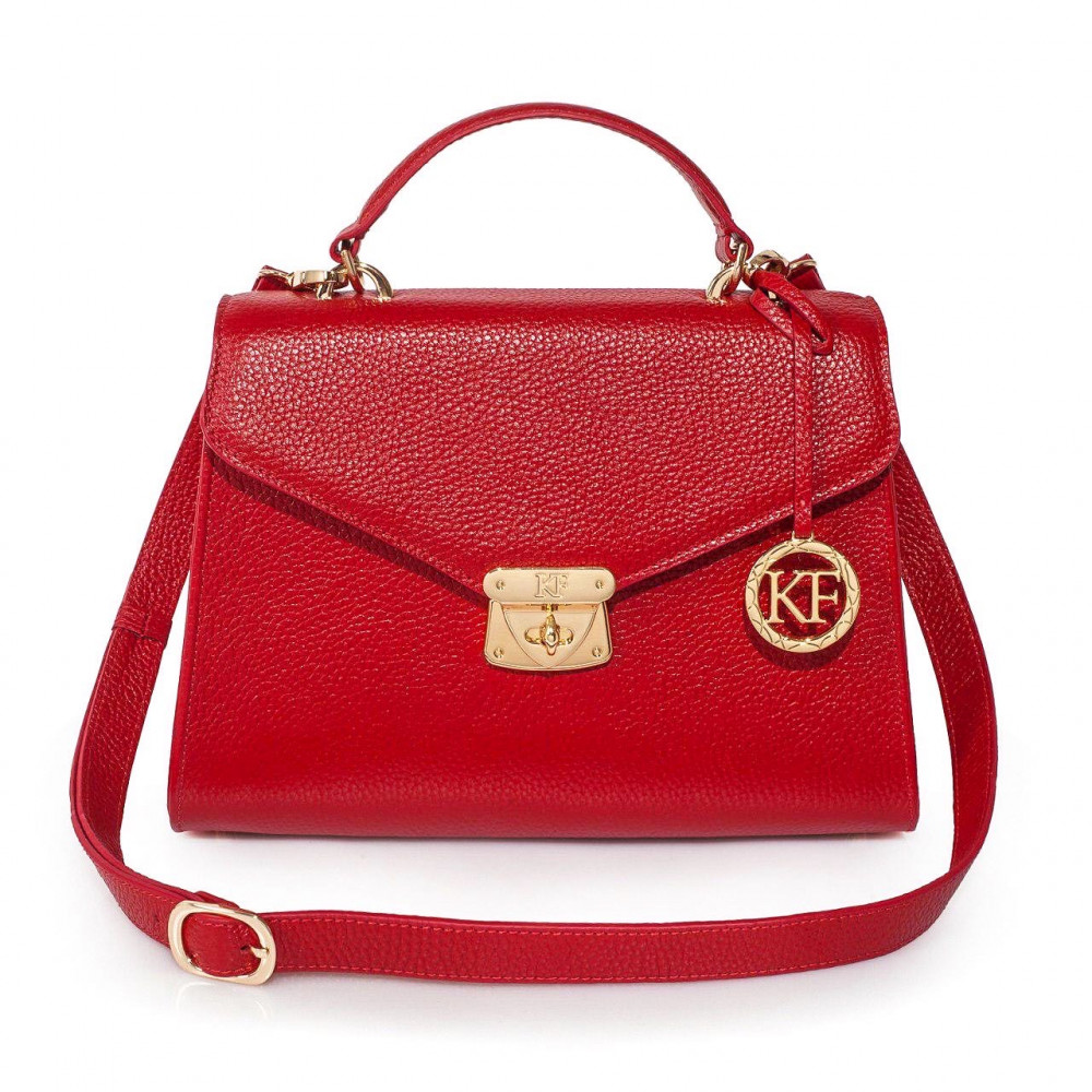 Women's leather briefcase Anita KF-2989
