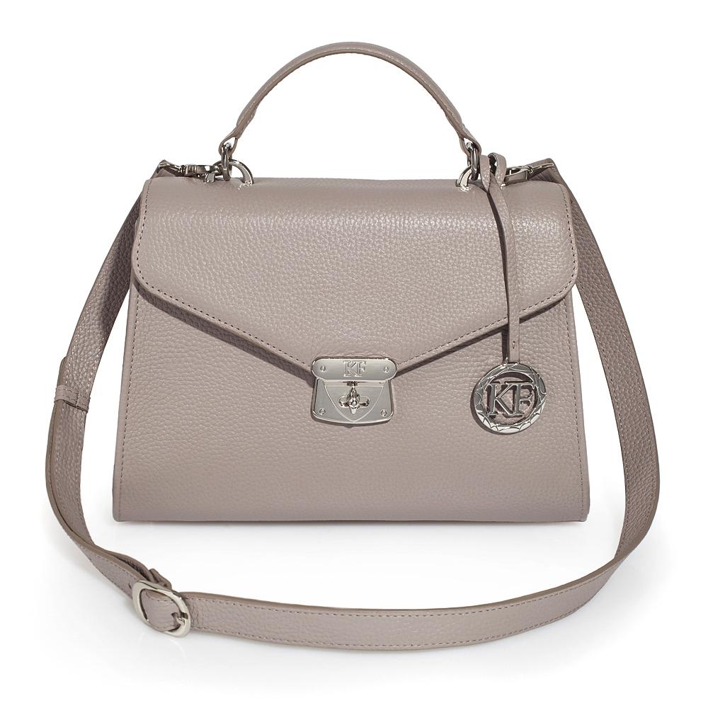 Women's leather briefcase Anita KF-2994