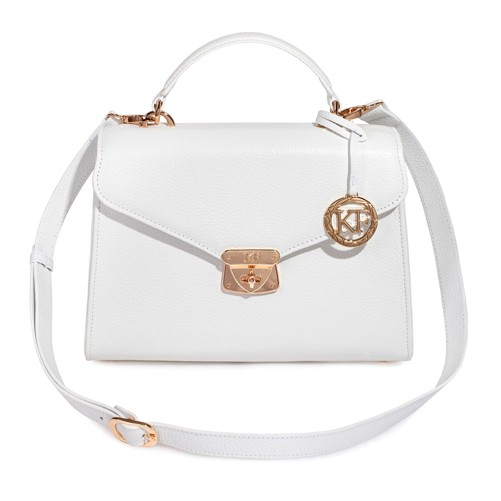 Women's leather briefcase Anita KF-2996