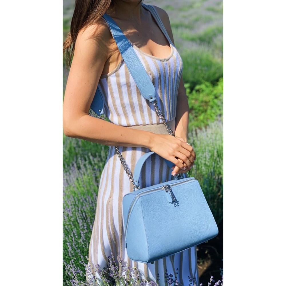 Women's leather bag Elegance KF-3009-7