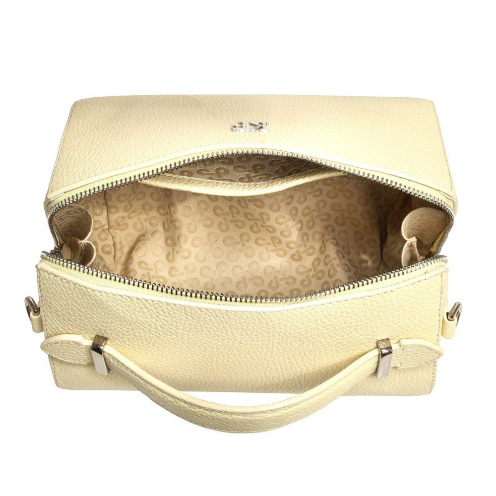 Women's leather crossbody bag on a wide strap on a wide strap Kira KF-3041-4