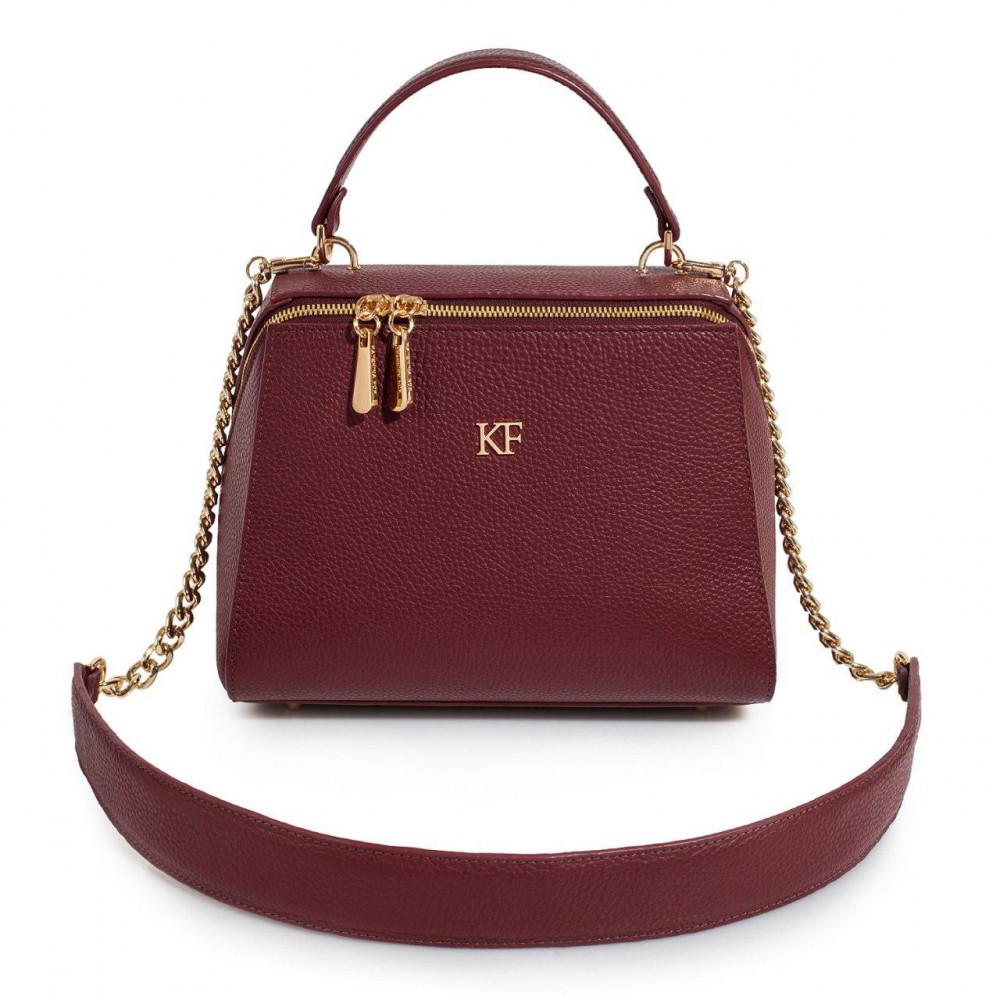 Жіноча шкіряна сумка Elegance KF-3086-