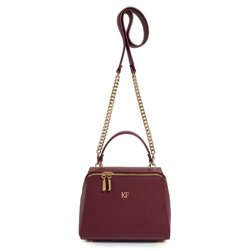Жіноча шкіряна сумка Elegance KF-3086-2