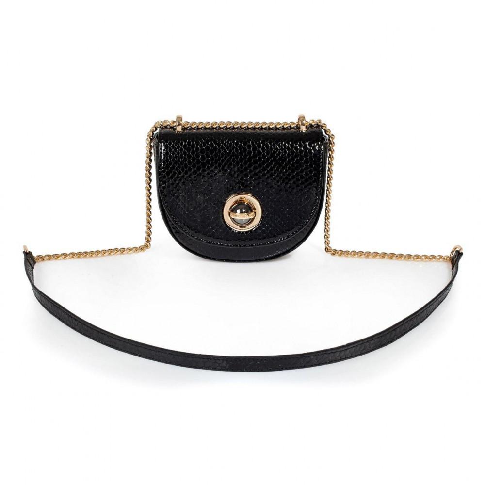 Жіноча шкіряна сумка на ланцюжку Milena KF-3090