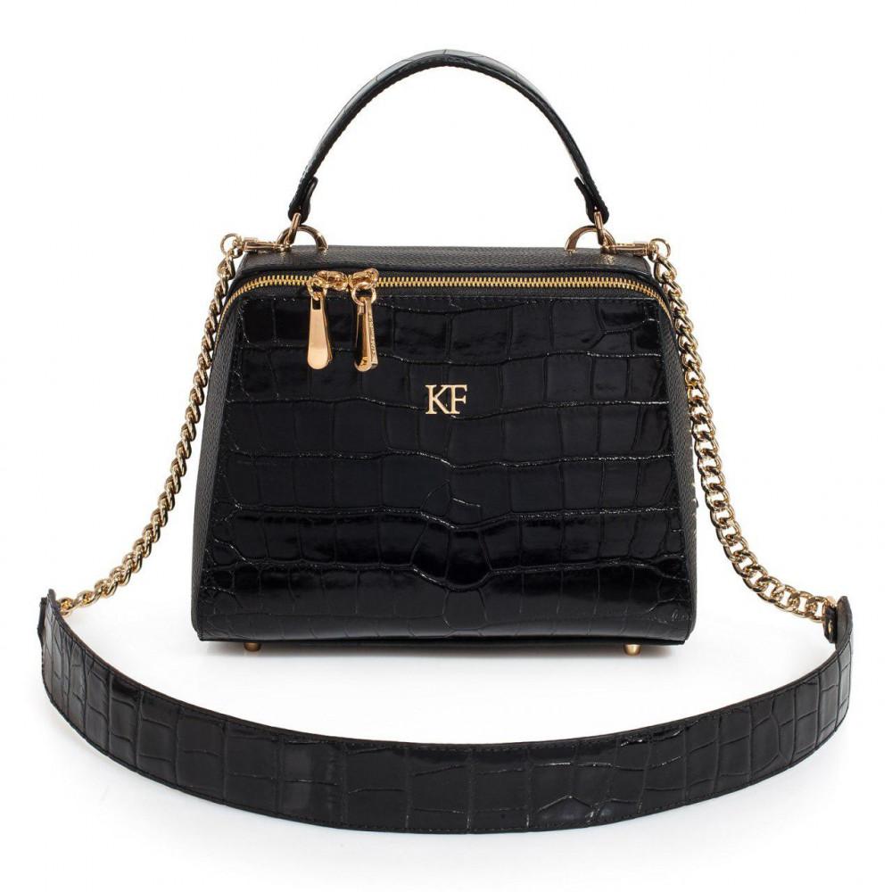 Жіноча шкіряна сумка Elegance KF-3105