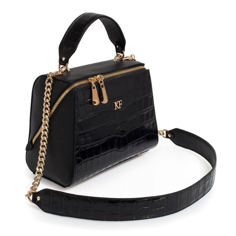 Жіноча шкіряна сумка Elegance KF-3105-1
