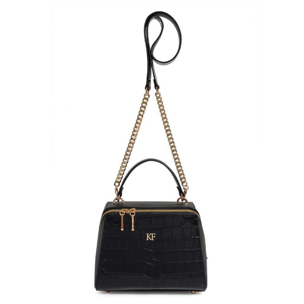 Жіноча шкіряна сумка Elegance KF-3105-2