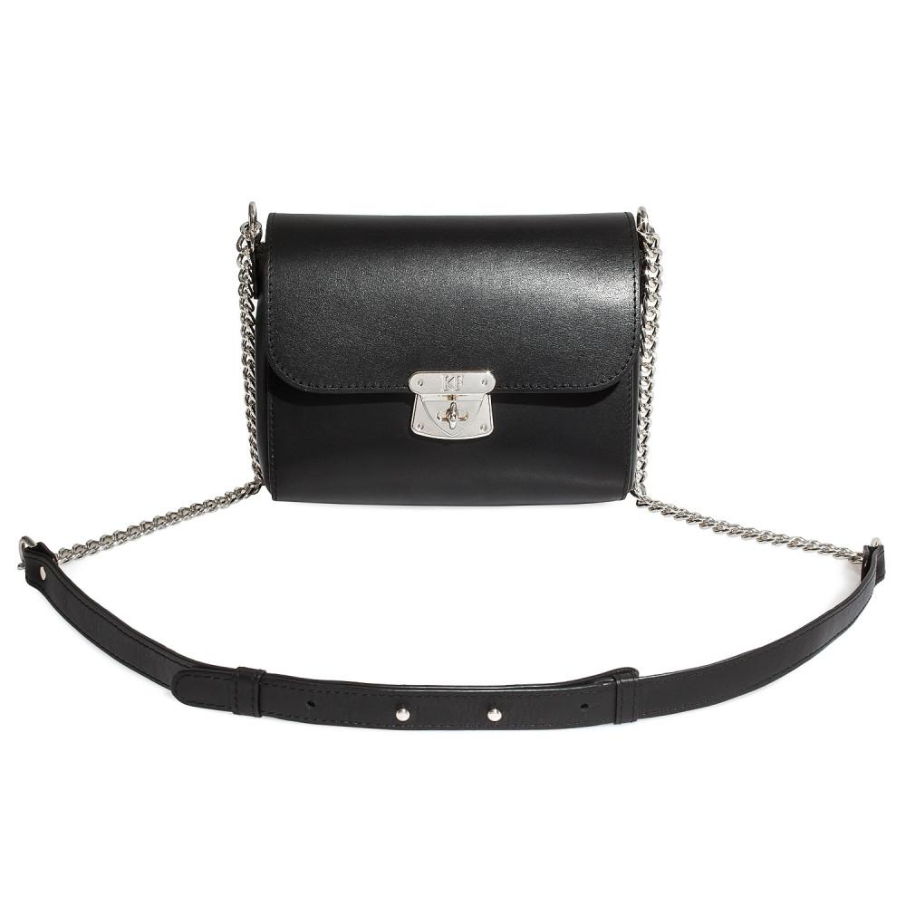 Жіноча шкіряна сумка на ланцюжку Prima S KF-3148