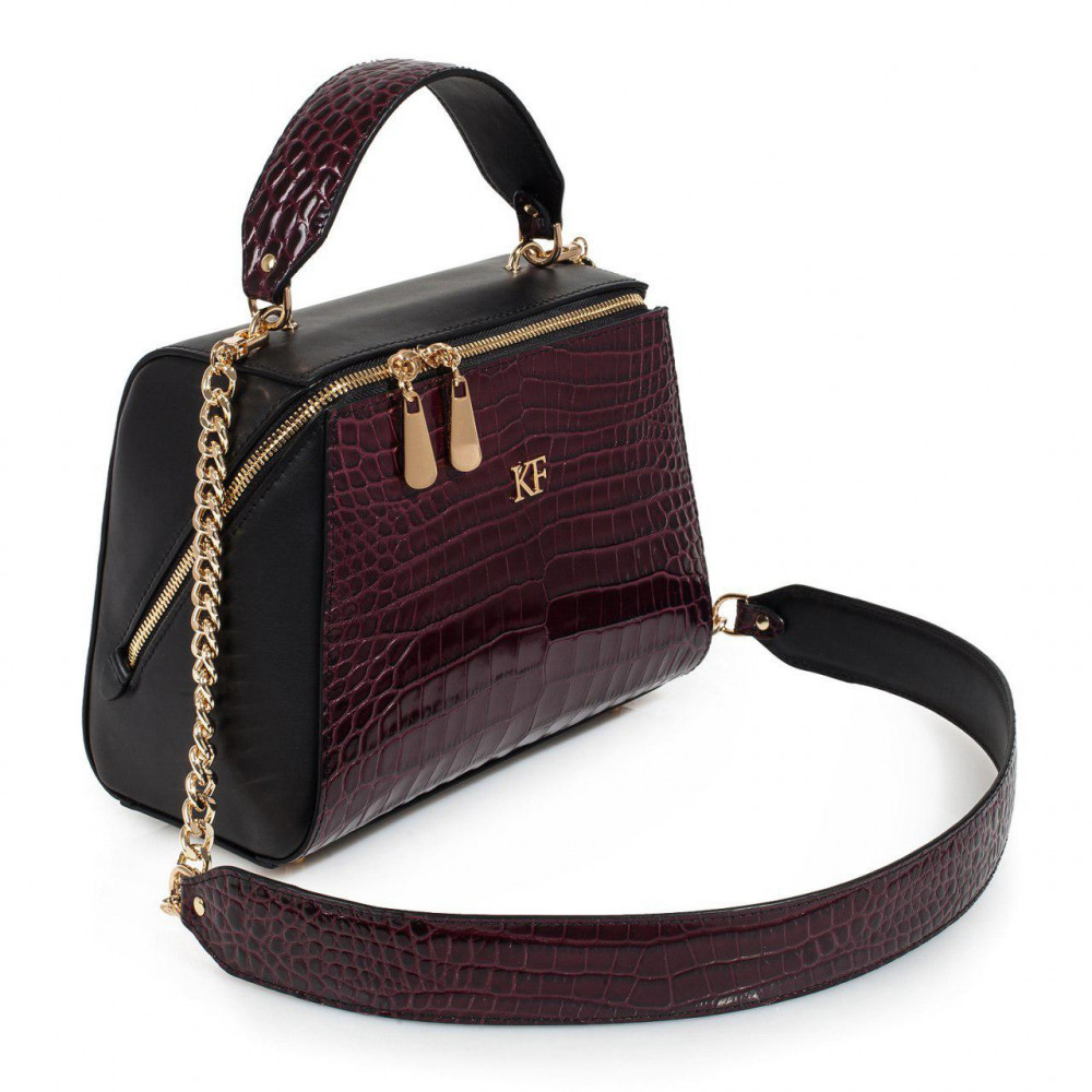 Women's leather bag Elegance KF-3160-1
