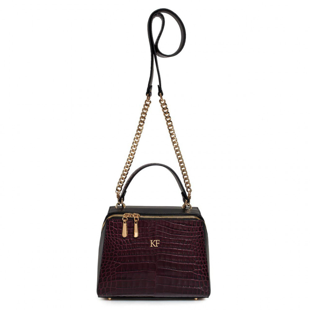 Women's leather bag Elegance KF-3160-2
