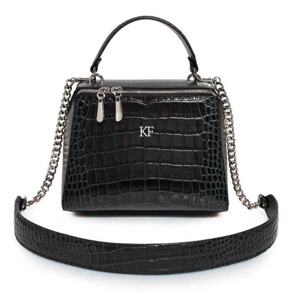Жіноча шкіряна сумка Elegance KF-3180