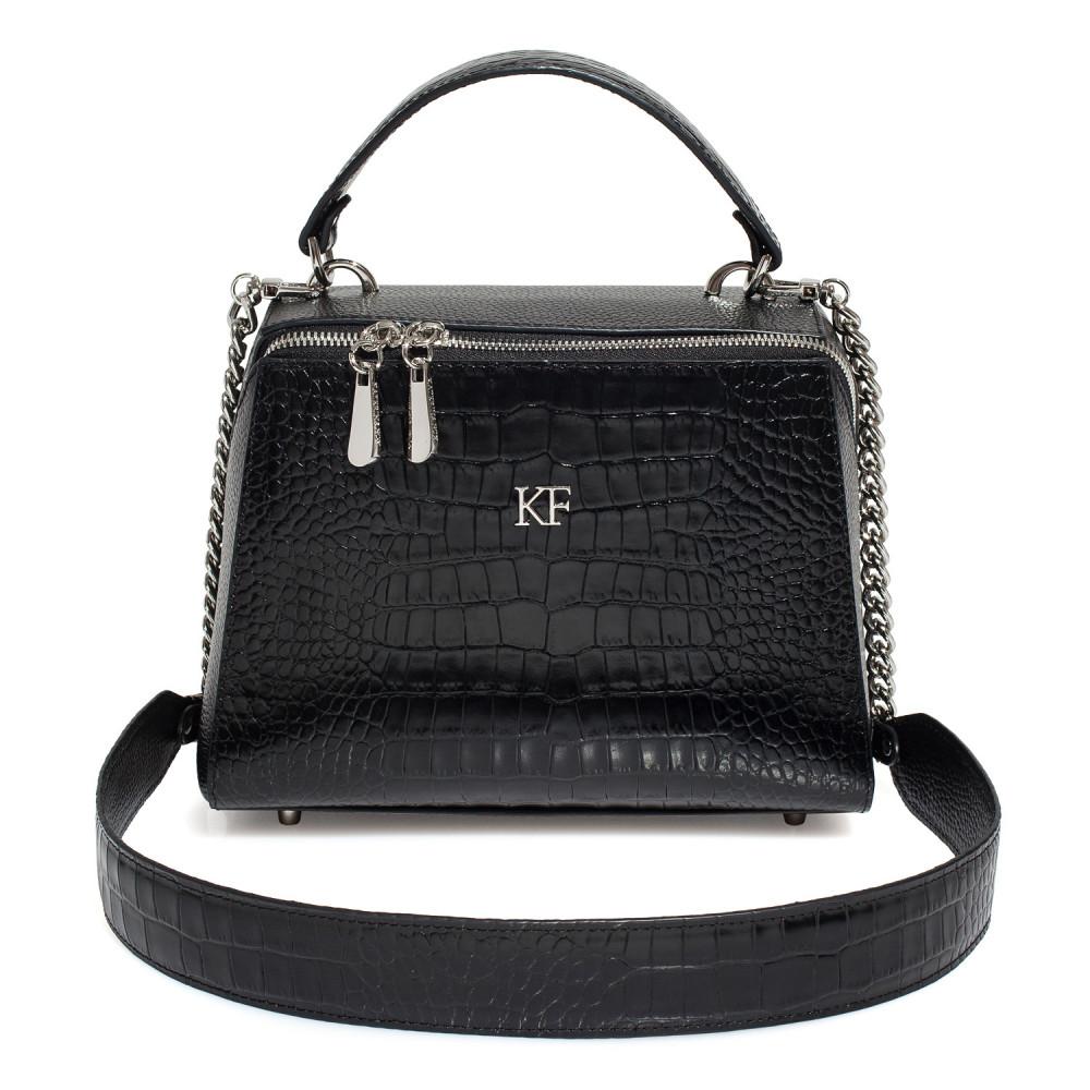 Жіноча шкіряна сумка Elegance KF-3183
