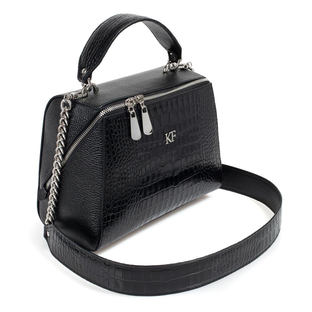 Жіноча шкіряна сумка Elegance KF-3183-1