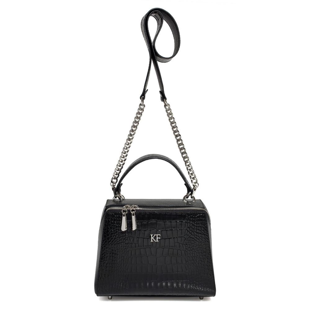 Жіноча шкіряна сумка Elegance KF-3183-2