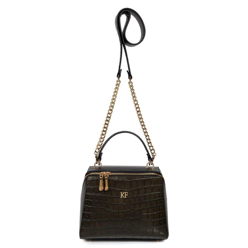 Жіноча шкіряна сумка Elegance KF-3194-2