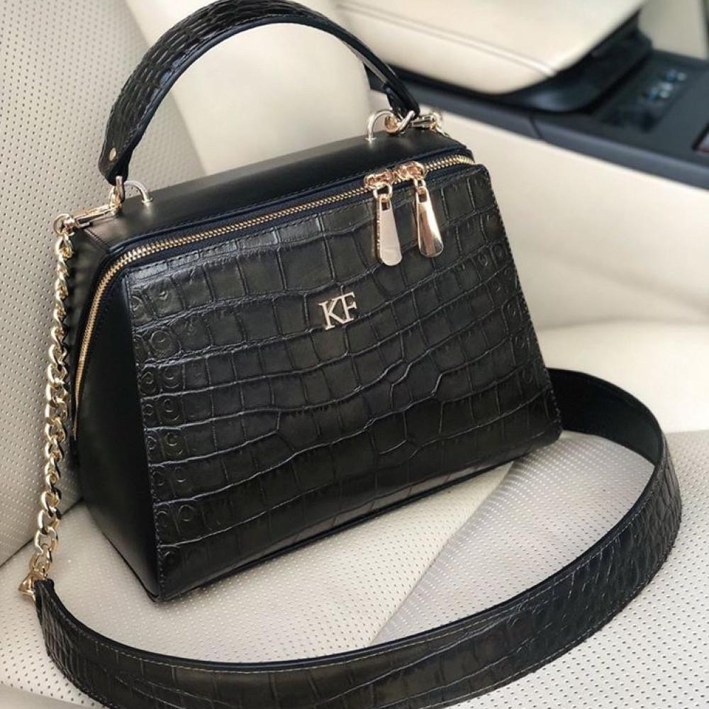 Жіноча шкіряна сумка Elegance KF-3194-6