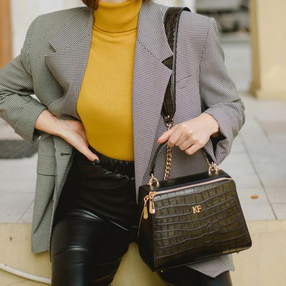 Жіноча шкіряна сумка Elegance KF-3194-8