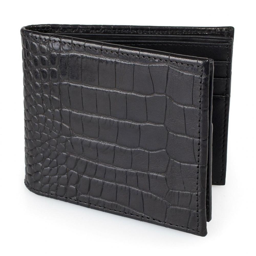 Men's leather wallet Cash fit KF-3221