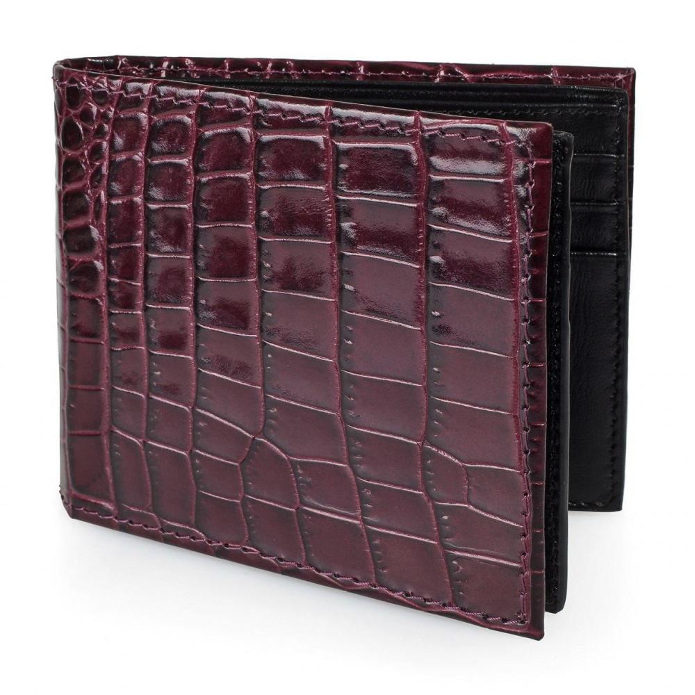 Men's leather wallet Cash fit KF-3222