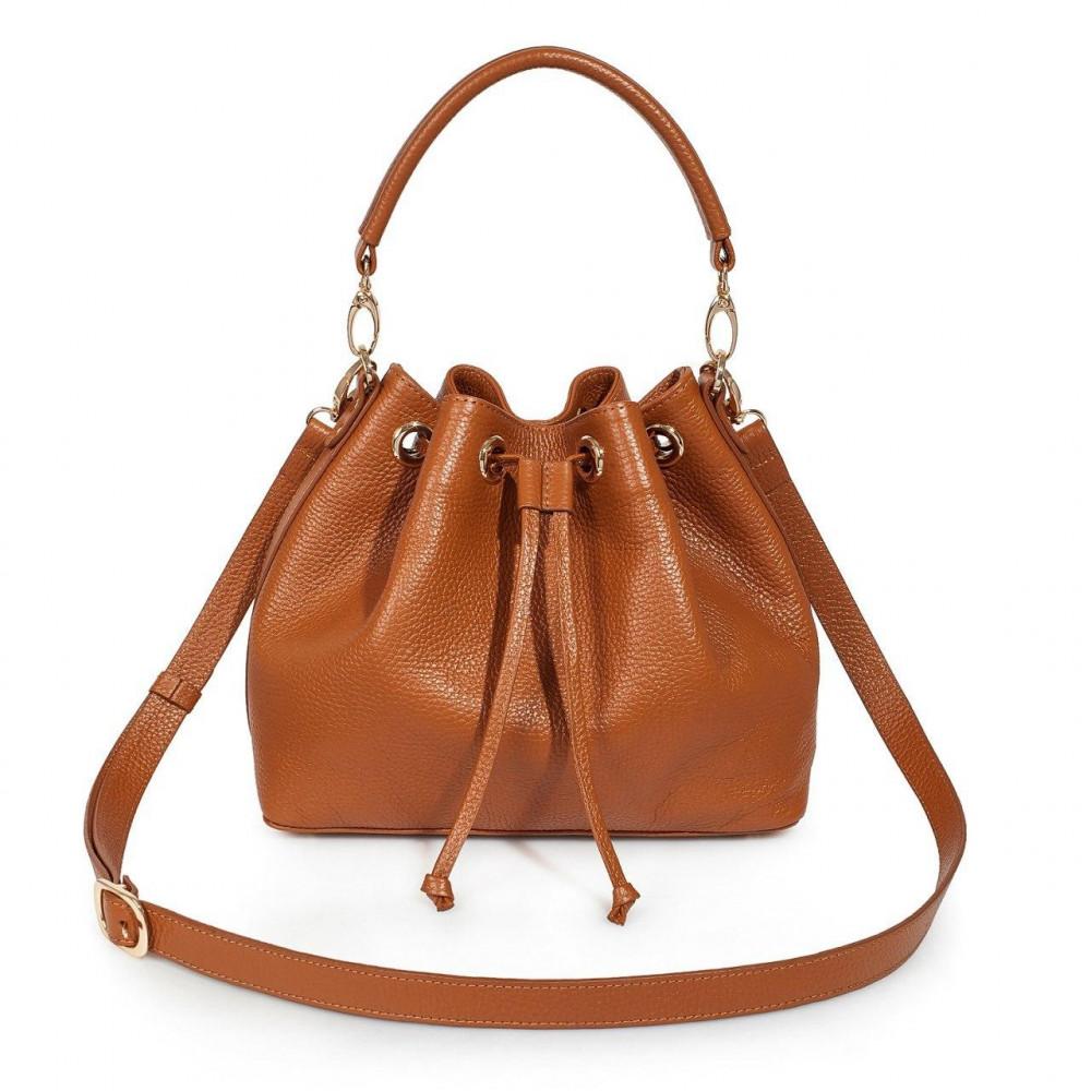 Women's leather Hobo bag Sonya KF-3224