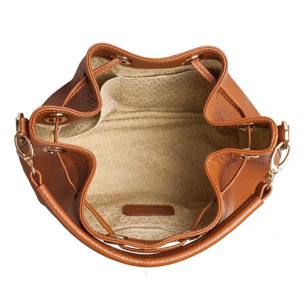 Жіноча шкіряна сумка-мішок Хобо Sonya KF-3224-4